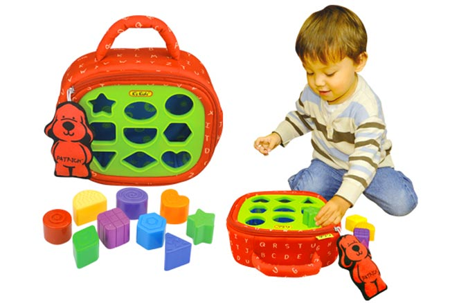 Развивающий набор ребенку от 1 до 3-х лет в подарок