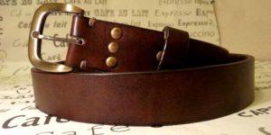 Подарок - ремень кожаный