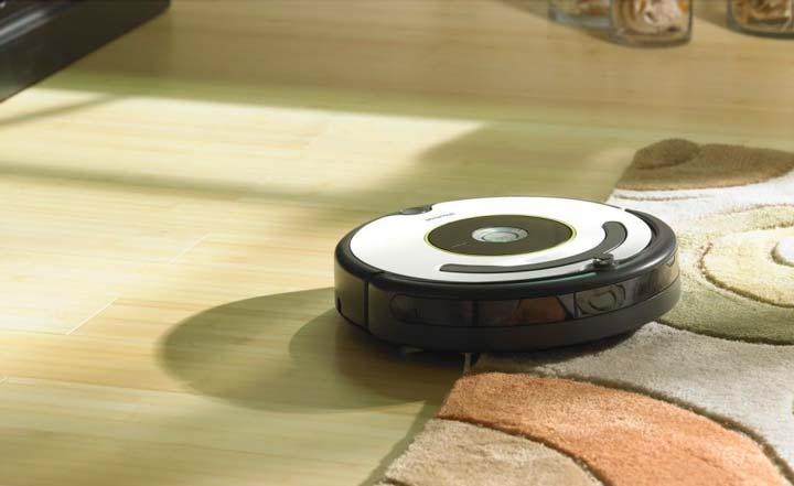 Робот-пылесос, помогающий поддерживать в доме чистоту