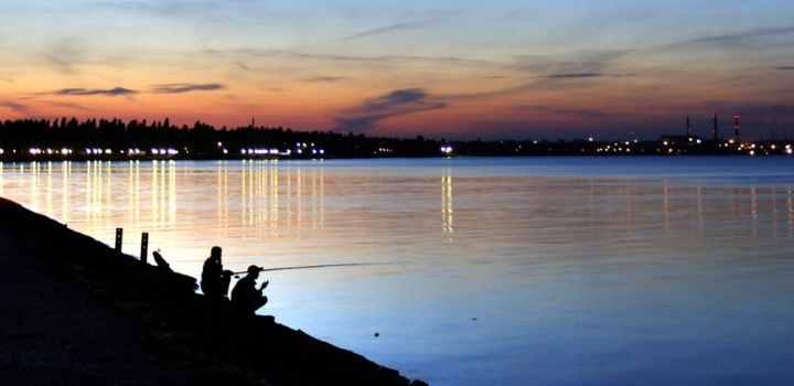Ночная рыбалка деду