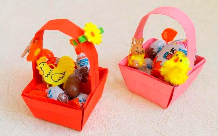 Символичные пасхальные игрушки