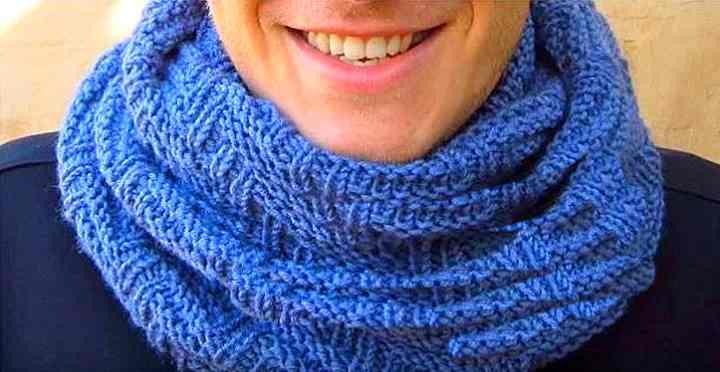 Модный шарф - снуд