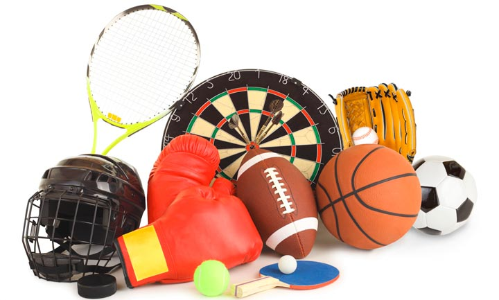 Спортивные принадлежности в подарок