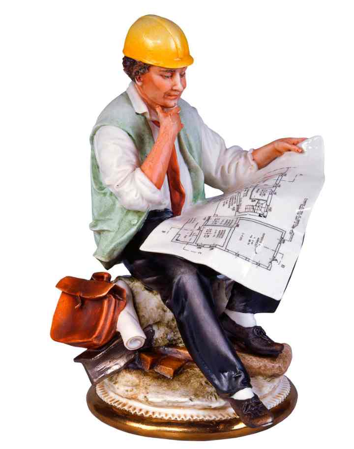 Инженер - статуэтка