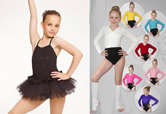 Танцевальный костюм и костюмы для аэробики девочкам
