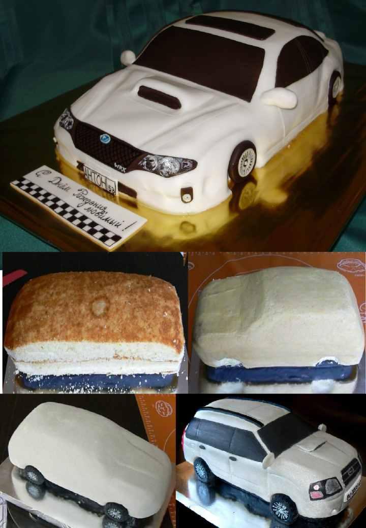 Пошаговое оформление торта