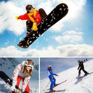 Коллаж про сноубордистов