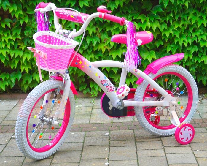Велосипед на пятилетие девочке