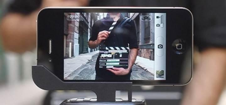 Айфон перед съемкой видео