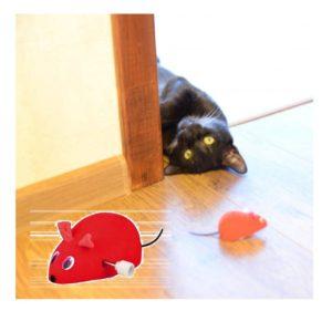 Красная мышка для кошки