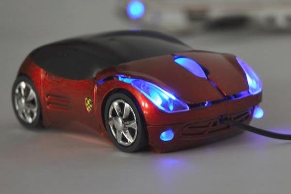 Мышь в виде автомобиля