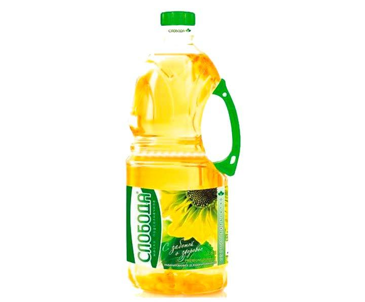 Растительное масло в объеме 2-3 л