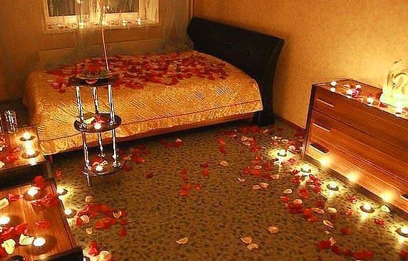 Романтическая обстановка