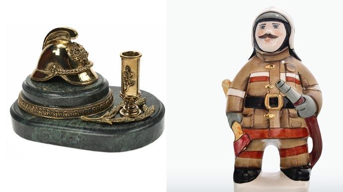 Статуэтки пожарник