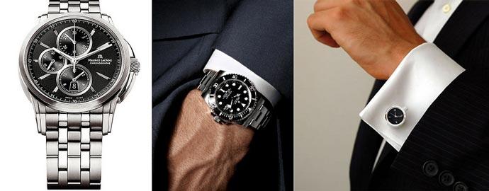 Часы, запонки мужские