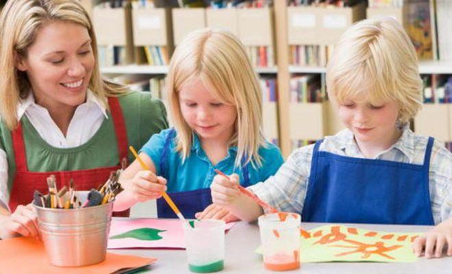 творческое время с детьми