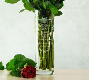 Новогодняя ваза в подарок