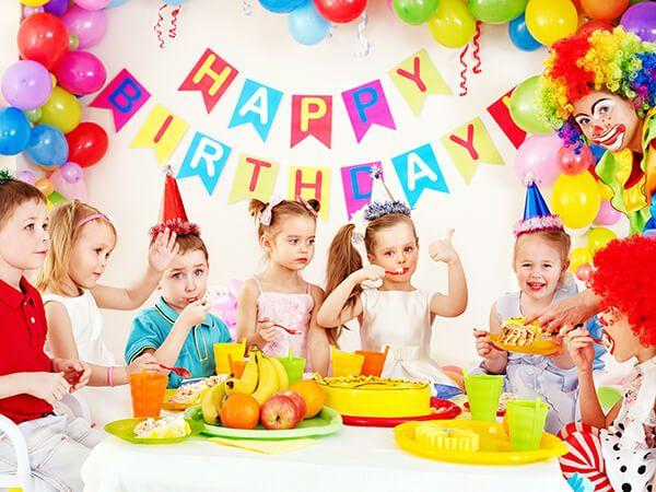 чем занять детей на день рождения