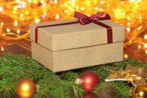 Коробка в новый год