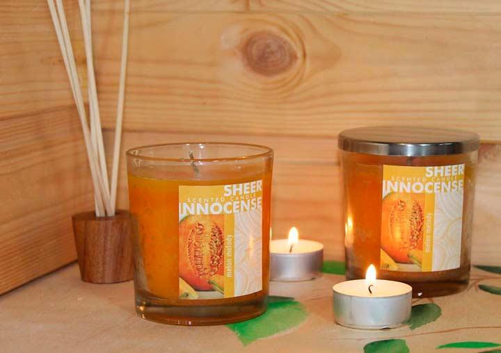 Аромо-свечи в подарок