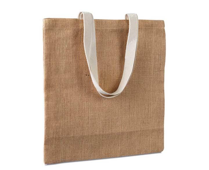 Льняной пакет для подарка на льняную свадьбу