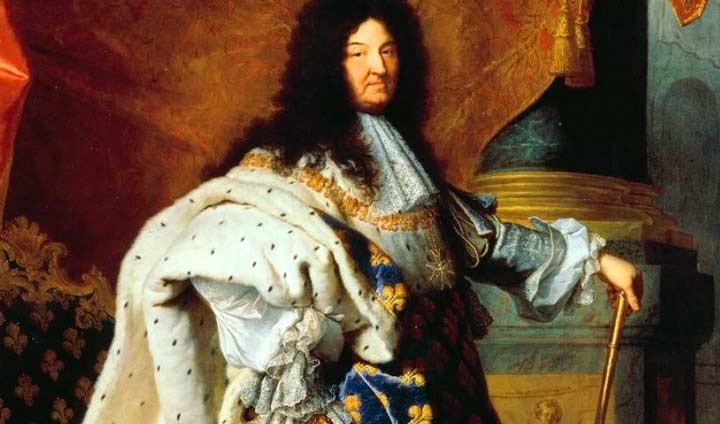 Король Людовик 14-ый