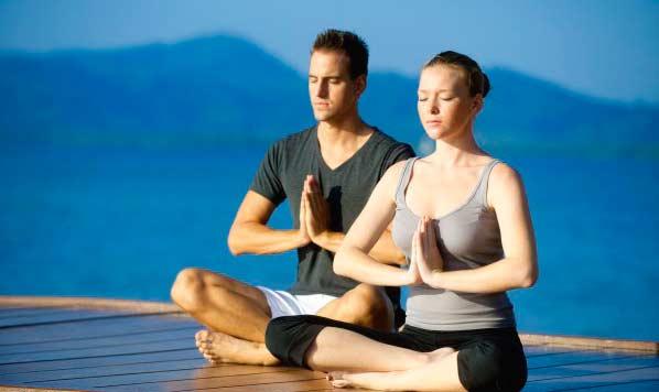 Медитация с мужем