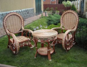 Садовая мебель ручной работы