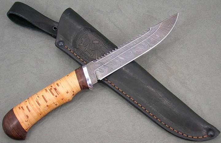 Нож рыбака в подарок отцу на юбилей