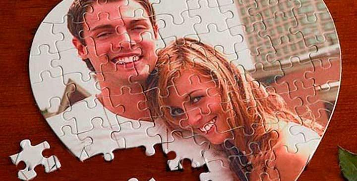 Мозаика или пазлы с вашим совместным фото