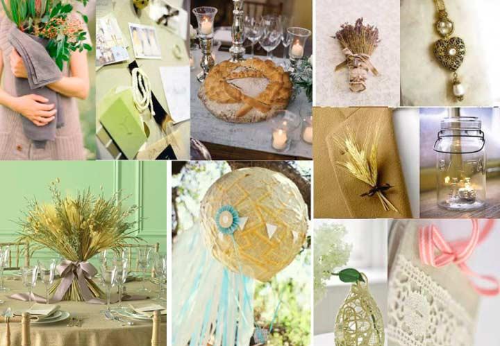 Празднование льняной свадьбы