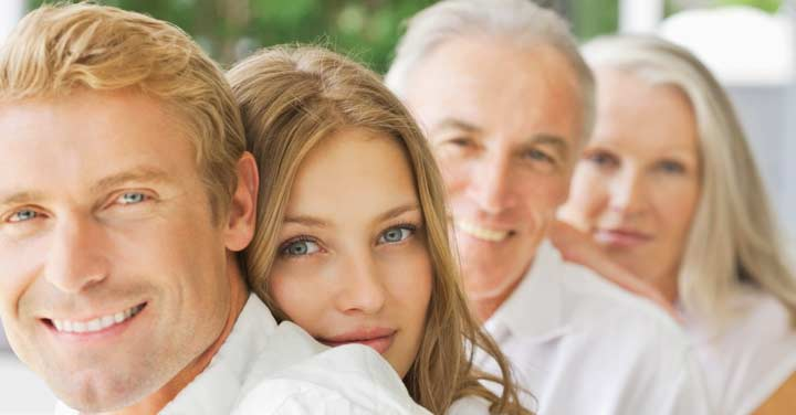 Зять с родителями супруги