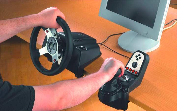 Руль для компьютерных игр