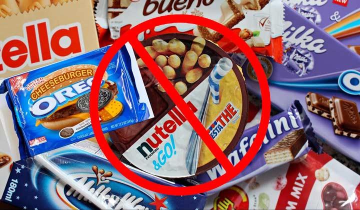 Запрещены сладости после родов