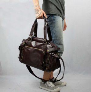 Кожаная сумка для тренера