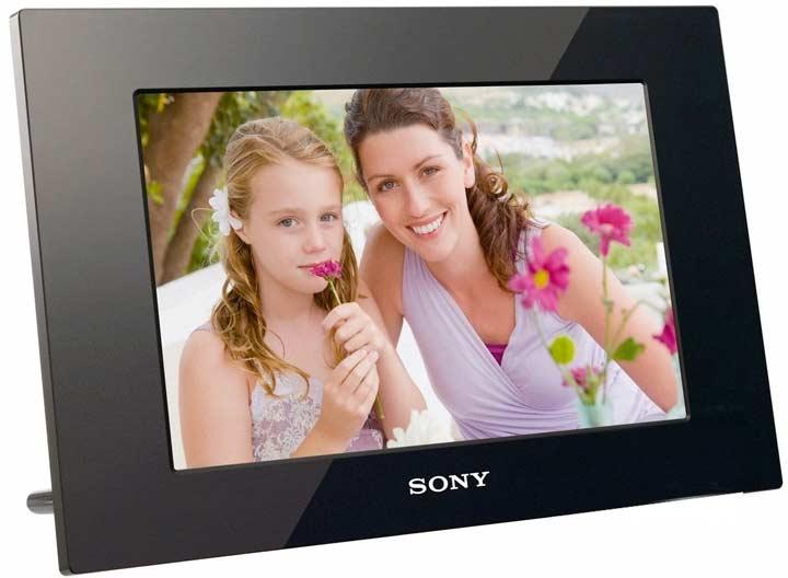 Цифровая фоторамка в подарок маме