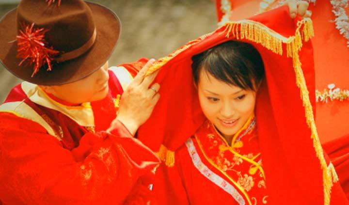 Китайские супруги