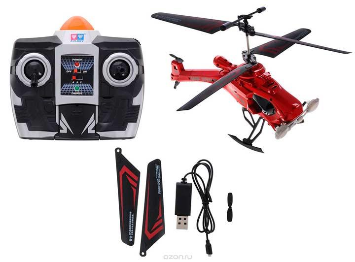 Вертолет на дистанционном управлении в подарок