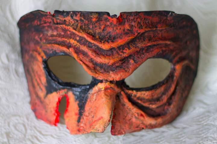 Маска на глаза для праздника Хэллоуин