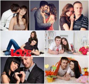 7 фотопоз для влюбленных