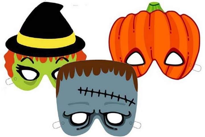 Смешные страшные маски на день всех святых