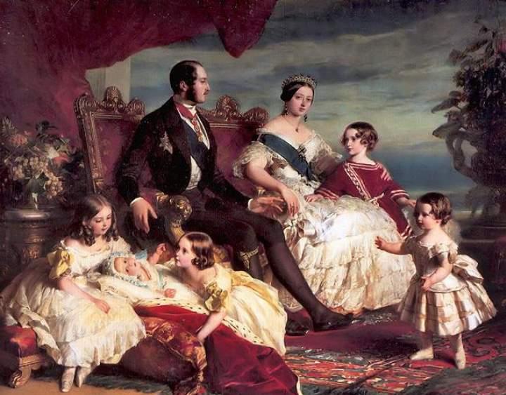 Английская королева Виктория