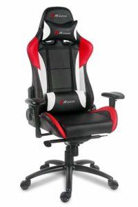 Красно-черное кресло компьютеру