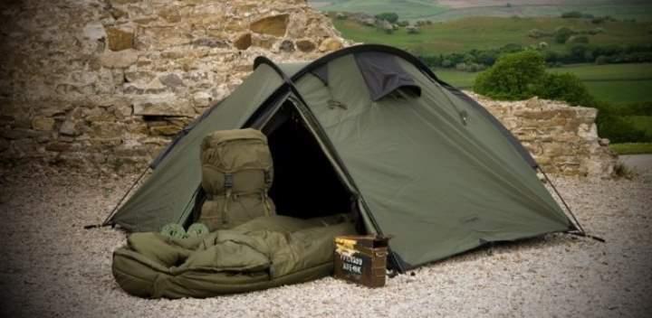 Палатка спецназа