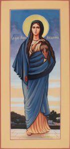 Ростовая икона Марии