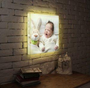 Как смотрится фотолайт в комнате