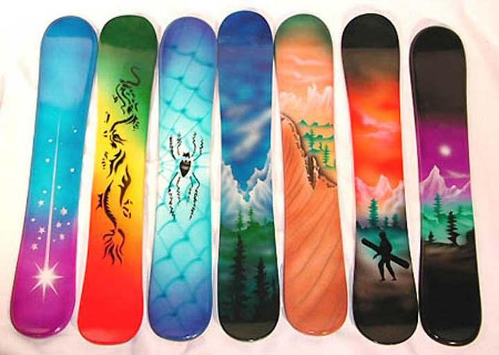 Виды досок для сноубординга
