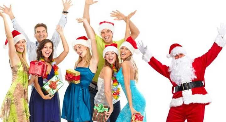Корпоративный новый год с Дедом морозом