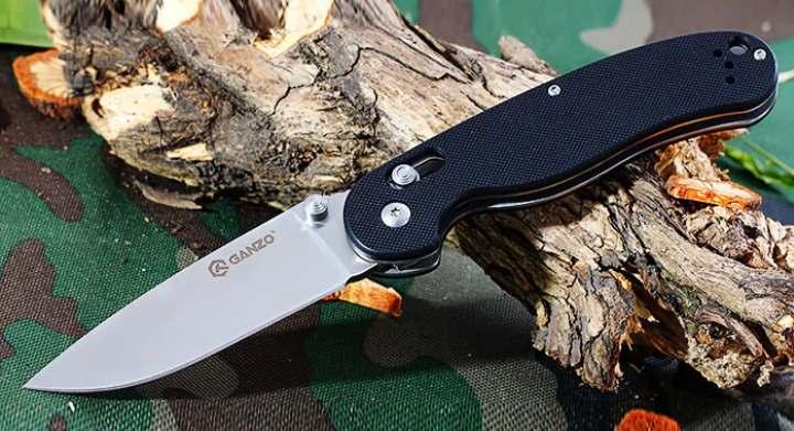 Вид складного ножа
