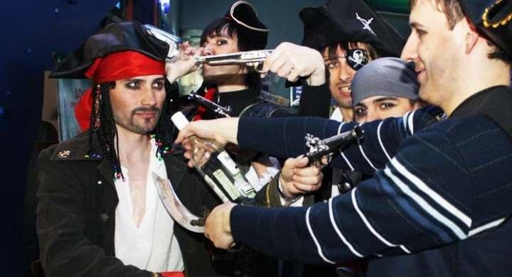 Корпоративный новый год в пиратском стиле